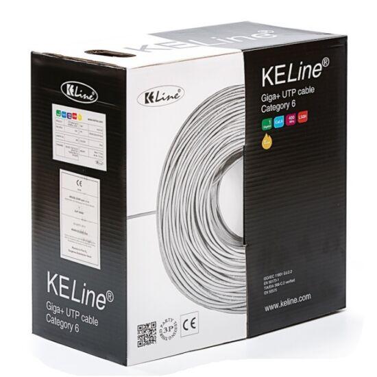 KELINE KE400U23LSOH-DCA Giga+ kábel UTP 4x2xAWG23 Cat.6, LSOH halogénmentes Euroclass Dca