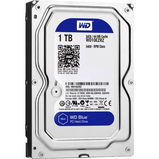 """WESTERN DIGITAL WD10EZRZ Belső HDD 3.5"""" 1TB"""