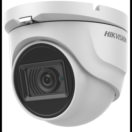 HIKVISION DS-2CE76U1T-ITMF 8 MP THD fix EXIR dómkamera; OSD menüvel; TVI/AHD/CVI/CVBS kimenet