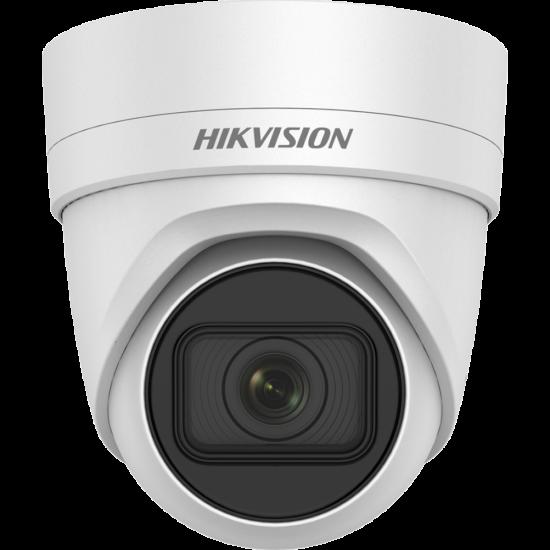 HIKVISION DS-2CD2H25FWD-IZS 2 MP WDR motoros zoom EXIR IP dómkamera; hang be- és kimenet