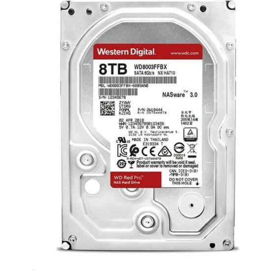 """WESTERN DIGITAL WD8003FFBX Belső HDD 3.5"""" 8TB"""