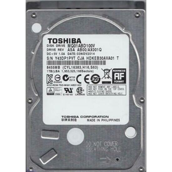 """TOSHIBA MQ01ABD100V Belső HDD 2.5"""" - MQ01 Video Mobile 1TB"""