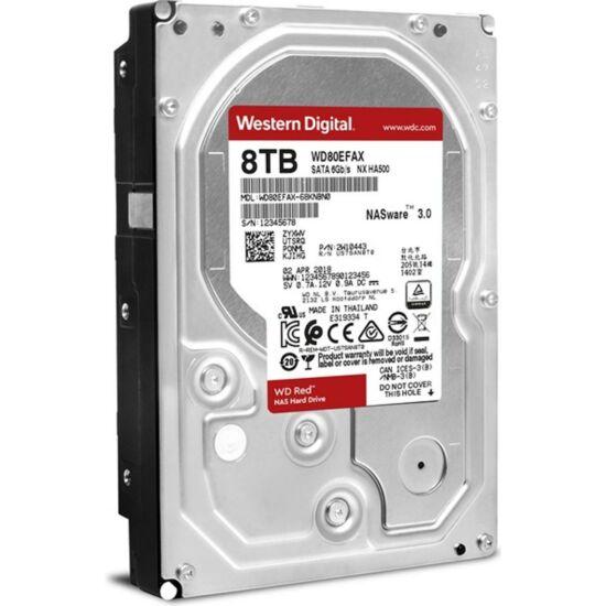 """WESTERN DIGITAL WD80EFAX Belső HDD 3.5"""" 8TB"""