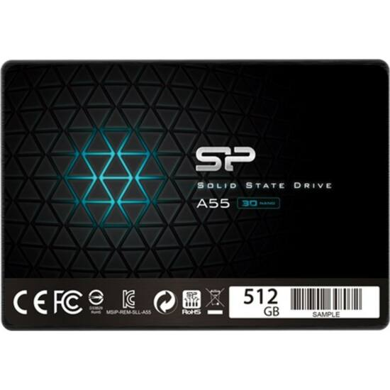 """SILICON POWER SP512GBSS3A55S25 SSD - 512GB A55 2,5"""""""