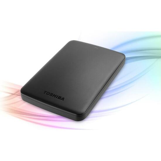 """TOSHIBA HDTB410EKCAAH Külső HDD 2.5"""" - 1TB Canvio Basics Fekete"""