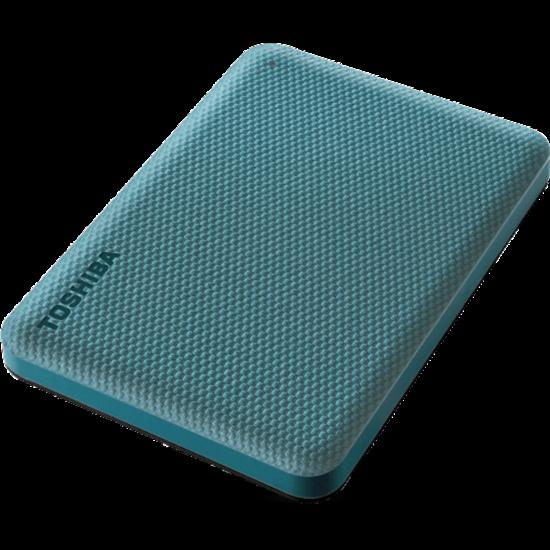 """TOSHIBA HDTCA10EG3AA Külső HDD 2.5"""" - 1TB Canvio Advance Zöld"""