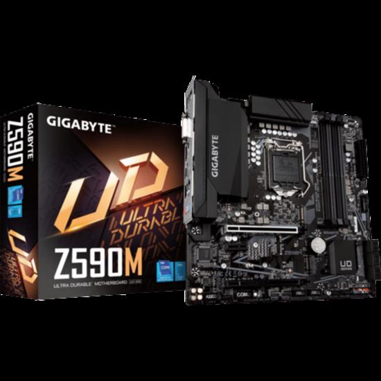 GIGABYTE Z590M Alaplap - Intel s1200