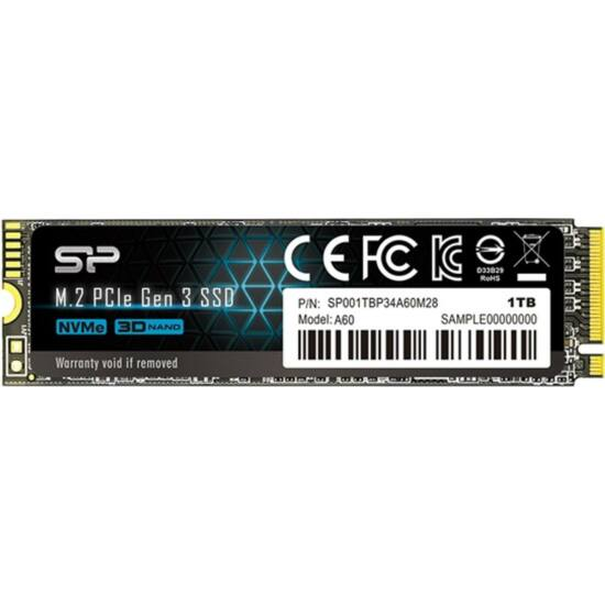 SILICON POWER SP001TBP34A60M28 SSD - 1TB A60