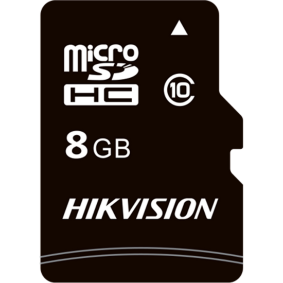 HIKVISION STORAGE HS-TF-C1 Hikvision MicroSD kártya - 8GB microSDHC™, Class 10 and UHS-I, TLC