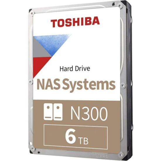 "TOSHIBA HDWG160EZSTA Belső HDD 3.5"" - N300 High-Reliability 6TB"