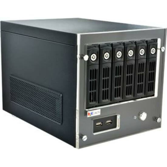 ACTI INR-340 64-Channel 6-Bay RAID Tower Standalone NVR Additional Computing Power, with Instant Playback, e-Map