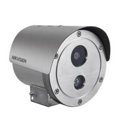 HIKVISION DS-2XE6222F-IS-316L 2 MP WDR robbanásbiztos EXIR fix IP csőkamera; hang be- és kimenet; korrózióálló kivitel