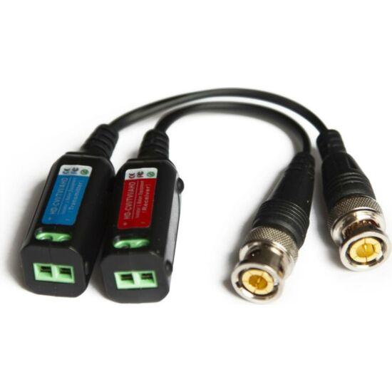 NESTRON GL218-C 1 csatornás passzív koax/UTP átalakító/földhurok leválasztó HD eszközökhöz
