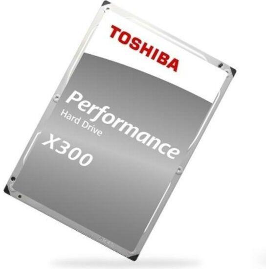 "TOSHIBA HDWR160EZSTA Belső HDD 3.5"" - X300 High-Performance 6TB"