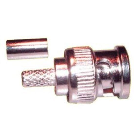 VEZ 3245 BNC dugó krimpelhető RG6-os kábelre