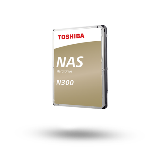 "TOSHIBA HDWG11AEZSTA Belső HDD 3.5"" - N300 High-Reliability 10TB"