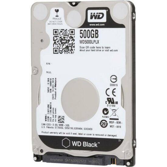 """WESTERN DIGITAL WD5000LPLX Belső HDD 2.5"""" 500GB"""