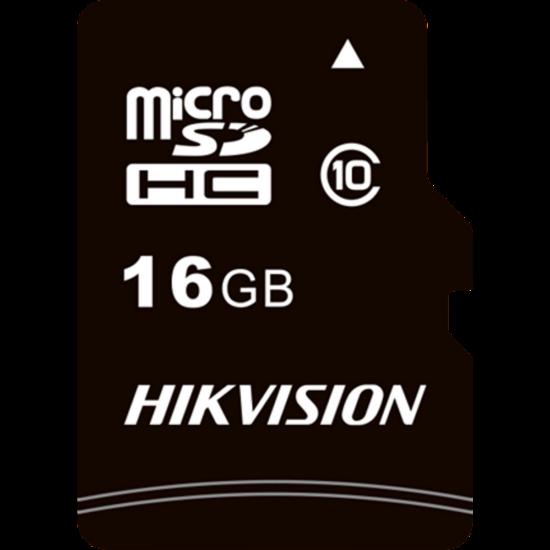 HIKVISION STORAGE HS-TF-C1 Hikvision MicroSD kártya - 16GB microSDHC™, Class 10 and UHS-I, TLC