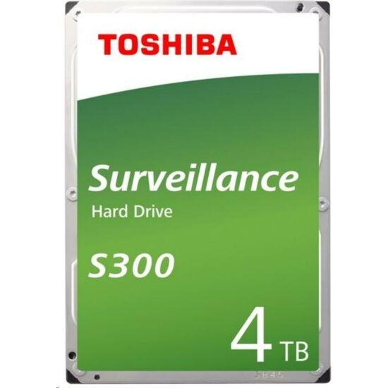 "TOSHIBA HDWT840UZSVA Belső HDD 3.5"" - S300 Surveillance 4TB"
