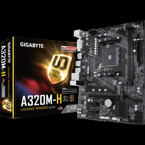 GIGABYTE GA-A320M-H Alaplap - AMD AM4