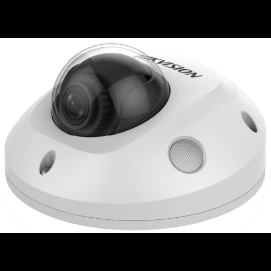 HIKVISION DS-2CD2543G0-IS 4 MP WDR fix EXIR IP mini dómkamera; hangkimenet és mikrofon