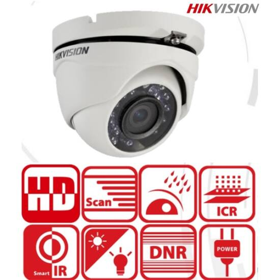 HIKVISION DS-2CE56D0T-IRMF 4in1 Analóg turretkamera