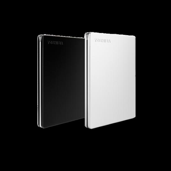 """TOSHIBA HDTD320ES3EAU Külső HDD 2.5"""" - 2TB Canvio Slim Ezüst"""