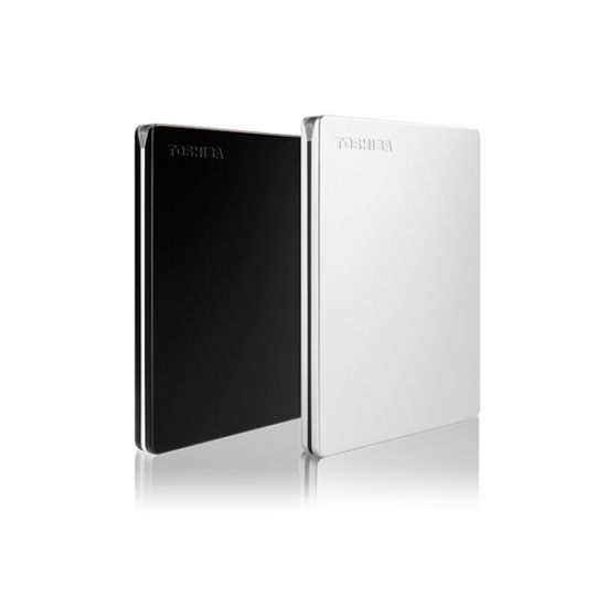 """TOSHIBA HDTD320EK3EAU Külső HDD 2.5"""" - 2TB Canvio Slim Fekete"""