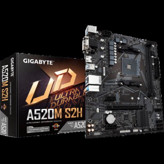 GIGABYTE A520M Alaplap - AMD AM4