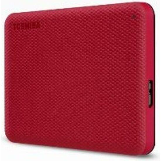 """TOSHIBA HDTCA10ER3AA Külső HDD 2.5"""" - 1TB Canvio Advance Piros"""