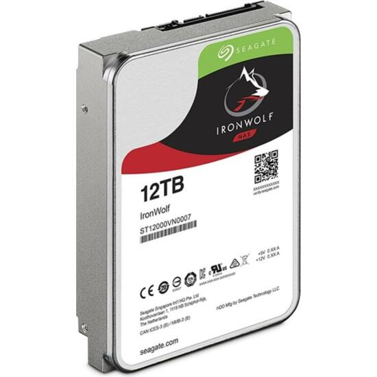 "SEAGATE ST12000VN0007 Belső HDD 3.5"" 12TB"