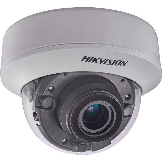 HIKVISION DS-2CE56D8T-ITZE 2 MP THD WDR motoros zoom EXIR dómkamera; OSD menüvel; PoC