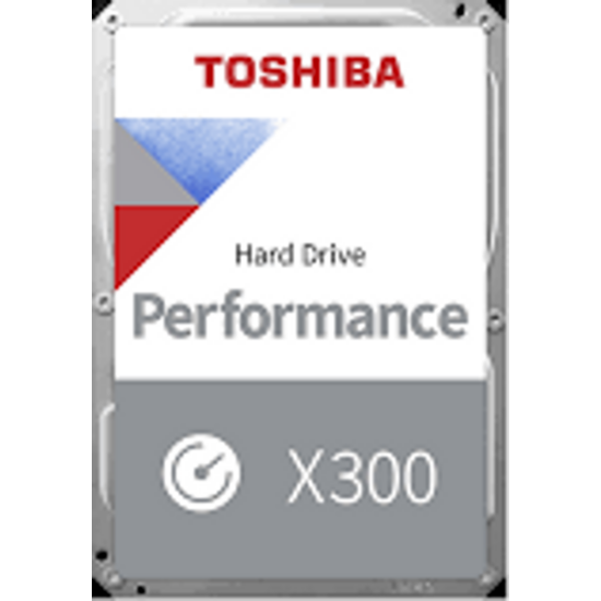 "TOSHIBA HDWR180EZSTA Belső HDD 3.5"" - X300 High-Performance 8TB"