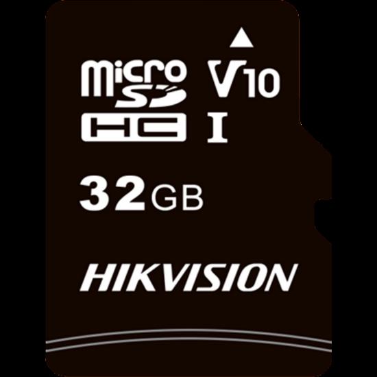 HIKVISION STORAGE HS-TF-C1 Hikvision MicroSD kártya - 32GB microSDHC™, Class 10 and UHS-I, TLC ,V10