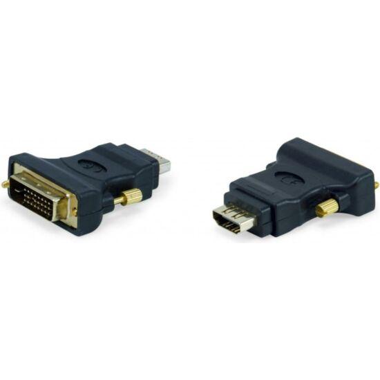 EQUIP EQUIP118908 HDMI-DVI átalakító ; anya/apa; fekete