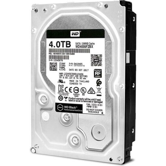 """WESTERN DIGITAL WD4005FZBX Belső HDD 3.5"""" 4TB"""