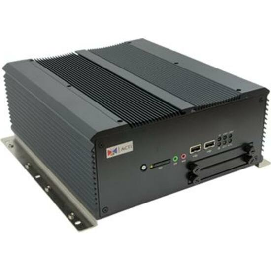 ACTI MNR-310 32-Channel 2-Bay Transportation Standalone NVR with Recording Throughput 192 Mbps, Instant Playback