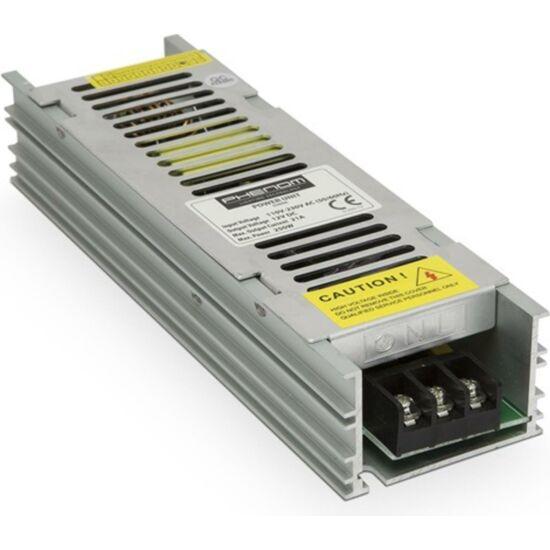 PHENOM 55006 Hálózati stabilizált tápegység, 12VDC 21A, 250W, ipari, rövidzár-, túlfeszültség- és hőmegfutás elleni védelem