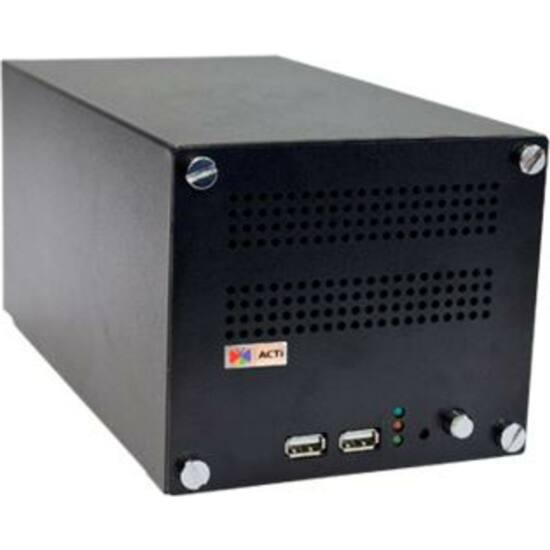 ACTI ENR-1000 4-Channel 2-Bay Desktop Standalone NVR with Recording 4 x 1080p/30fps, HDMI Port for 1080p Display