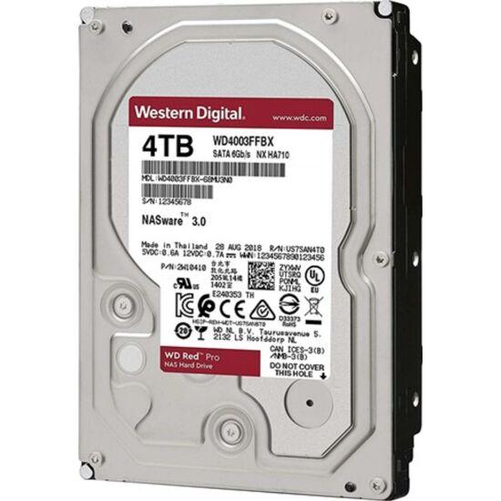 """WESTERN DIGITAL WD4003FFBX Belső HDD 3.5"""" 4TB"""