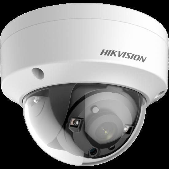 HIKVISION DS-2CE56D8T-VPITE 2 MP THD WDR fix EXIR dómkamera; OSD menüvel; PoC