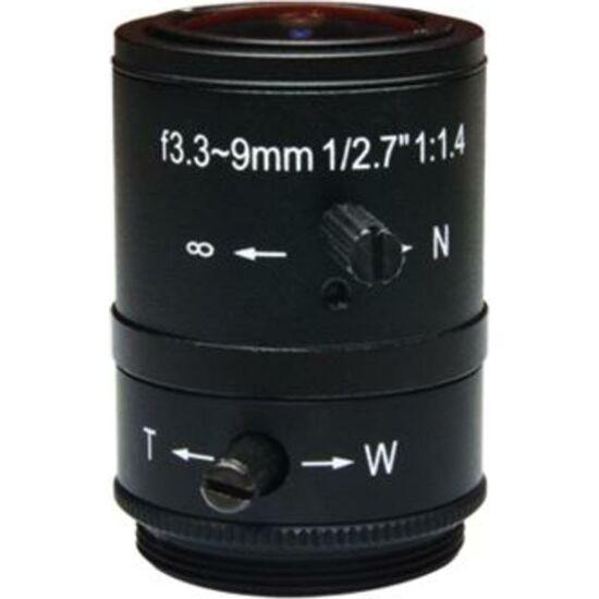 ACTI PLEN-0131 Vari-focal f2.8- Fixed Iris F1.4, Manual Focus, D/N, Megapixel, CS Mount Lens