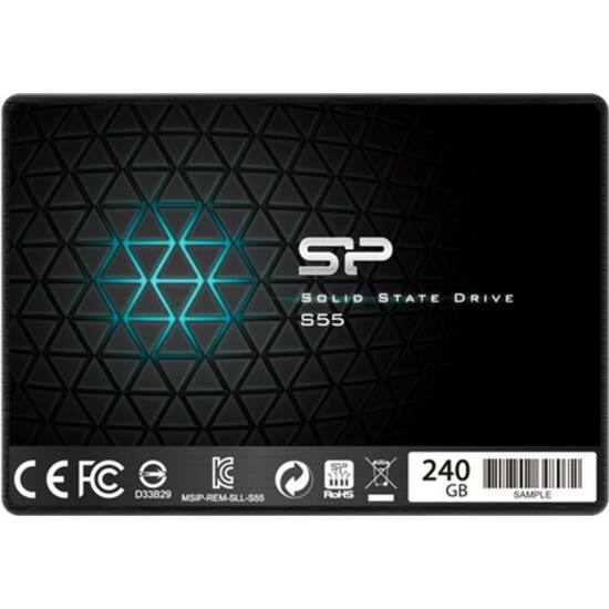 """SILICON POWER SP240GBSS3S55S25 SSD - 240GB S55 2,5"""""""