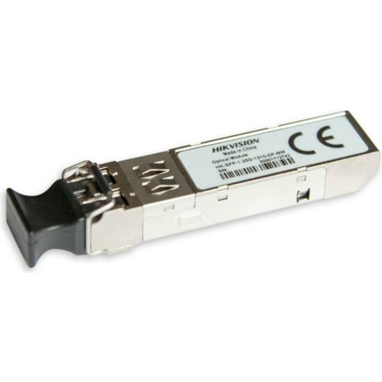 HIKVISION HK-SFP-1-25G-1310-DF-MM Multimódusú SFP modul; duplex LC; 1.25G; TX1310 nm/RX1310 nm