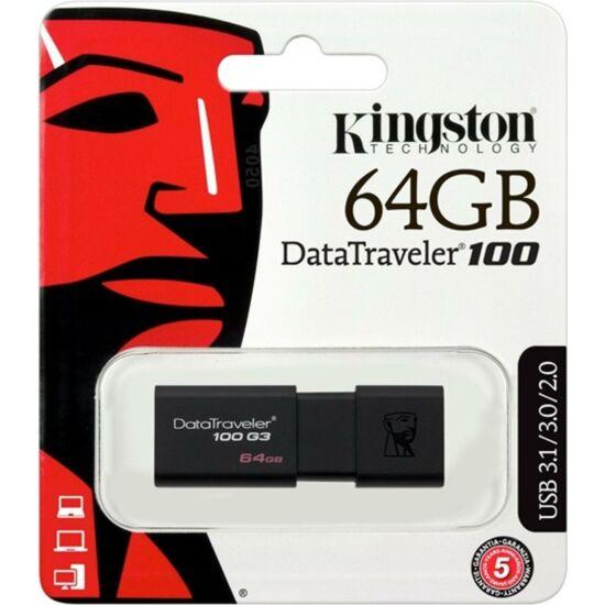 KINGSTON DT100G3-64GB Pendrive - Datatraveler