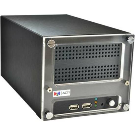 ACTI ENR-120 9-Channel 2-Bay Desktop Standalone NVR with Recording Throughput 36 Mbps, HDMI Port for 1080p Displa