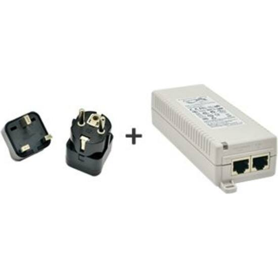 ACTI PPOE-0001 PoE Injector IEEE 802.3af compliant, AC 100~240V, with universal connectors