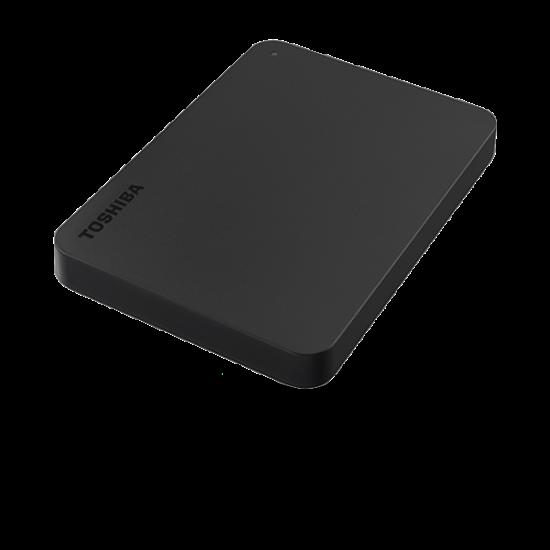 """TOSHIBA HDTB410EK3AA Külső HDD 2.5"""" - 1TB Canvio Basics Fekete"""
