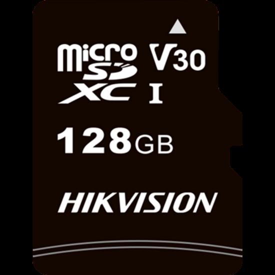 HIKVISION STORAGE HS-TF-C1 Hikvision MicroSD kártya - 128GB microSDHC™, Class 10 and UHS-I, TLC ,V30