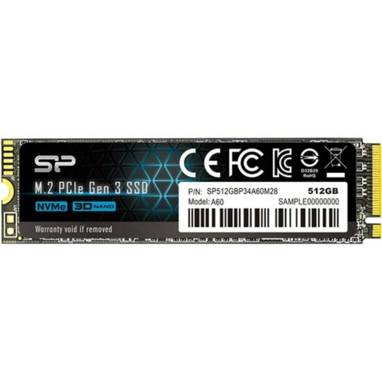SILICON POWER SP512GBP34A60M28 SSD - 512GB A60